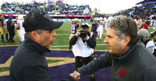With UW at No. 4 and WSU at No. 9, Washington is now home to two top-10 FBS football teams