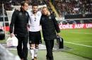 End international football: Shkodran Mustafi limps off injured