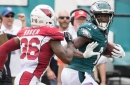Cardinals defense gashed, by Wentz, Eagles in 27-point loss