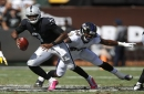 Ravens 30, Raiders 17: Without Derek Carr, Oakland drops third straight