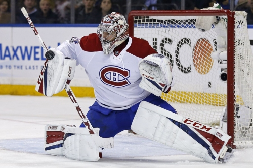 [Highlight] Carey Price lunges across to make a huge save