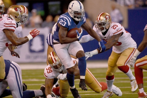 Frank Gore Moves to 7th All-Time Rushing In Colts Win