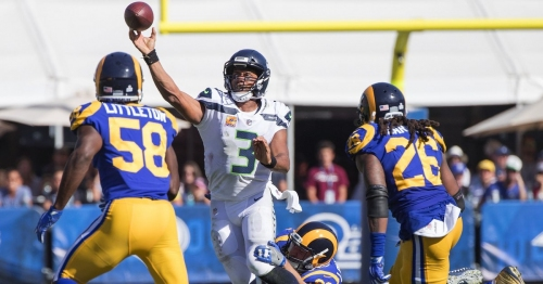 Seahawks' defense dominated Rams, but Russell Wilson saved the game