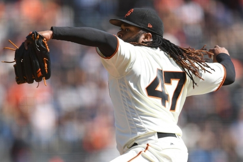 The Giants are probably set with the rotation, and that's fine.