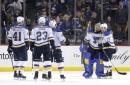 Blues down Islanders 3-2 in shootout (Oct 09, 2017)