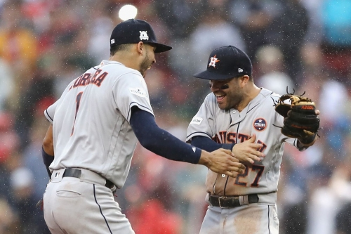 The Red Sox lost to the better team
