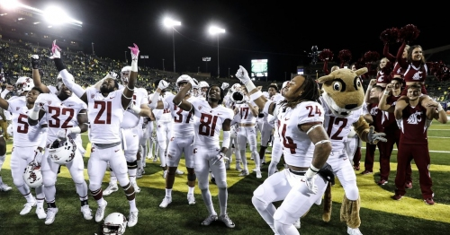 WSU may be ranked No. 8, but in the Cougars' minds, they're still the underdogs of the Pac-12