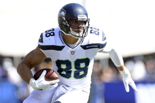 Jimmy Graham was not a tight end on Sunday
