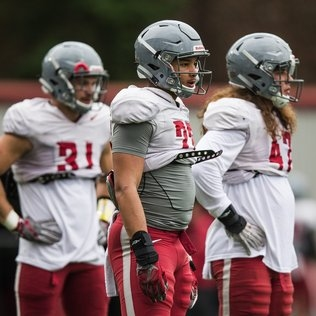 Injuries have ushered in a new generation of young, promising inside linebackers for No. 8 WSU Cougars