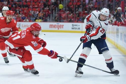 Red Wings vs. Capitals: RANK 'EM