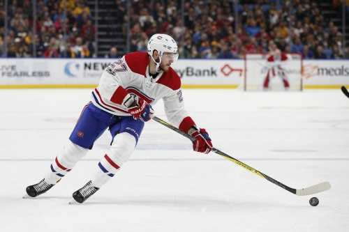 Canadiens lines at practice, October 11: Galchenyuk on 4th line