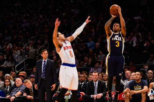 The Knicks have signed point guard Trey Burke