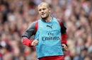 Jack Wilshere talks to Arsene Wenger