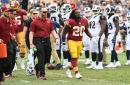 Gruden: Rob Kelley is a 'long shot' to play Sunday, Trent Williams a question mark