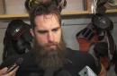 Ducks Live: Patrick Eaves before season debut against Islanders