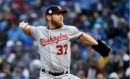 Strasburg rises from mold malady to throttle Cubs, send NLDS to Game 5