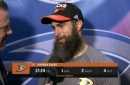 Ducks Live: Patrick Eaves after his first game back