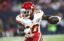 Injury update: good news for Travis Kelce, bad news for Tyreek Hill
