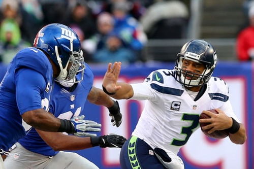 A look ahead to the Seahawks flaming pile of pigskin remnants in Week 7: The Giants