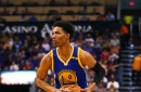 Who is the Warriors' third point guard?