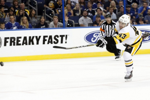 Recap: Lightning Strikes. Pens lose 5-4.