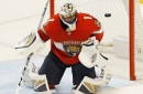 Panthers spread scoring around, hand Blues their first loss of the season
