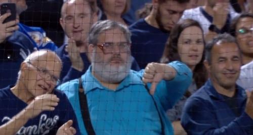 Thumbs Down Guy, devoted Mets fan, now hopes Yankees keep winning