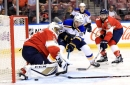 Panthers end Blues undefeated start with 5-2 win