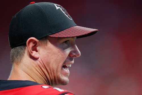 The Falcons lost and regained first place in the NFC South without playing a game