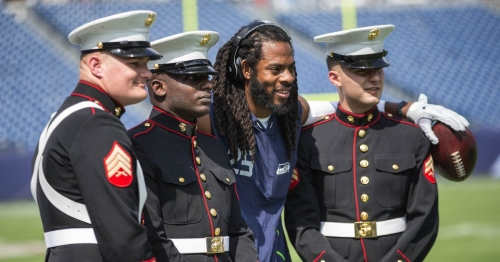 Watch: How Richard Sherman made a young girl's day