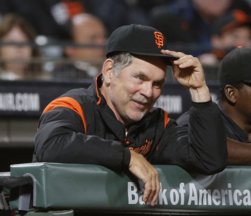 Giants manager Bruce Bochy resting after heart procedure