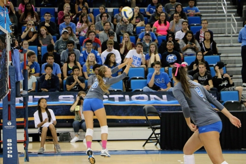 No. 12 UCLA Women's Volleyball Faces Biggest Test of the Year Against No. 3 Stanford