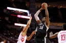 Spurs beat the Rockets to cap off the preseason