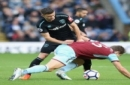 Burnley settles for 1-1 draw at home against West Ham