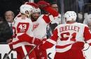 Henrik Zetterberg, Jimmy Howard key Red Wings' fast start