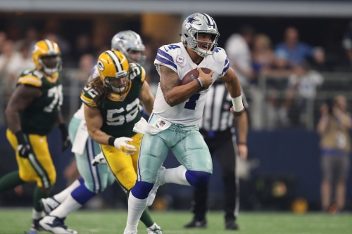 A Dallas loss to Green Bay, by the numbers