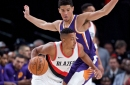 CJ McCollum Suspended for Opening Night