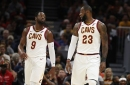 "Dwyane Wade says LeBron James ""loves it"" in Cleveland"