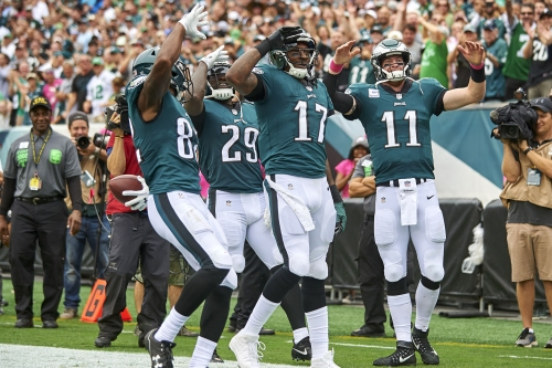 The Eagles are soaring while other NFC East contenders drop like flies