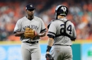 Yankees pull Luis Severino after just four innings