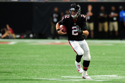 Projecting the statistical performances for the Falcons vs. the Dolphins