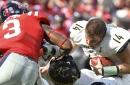 Sloppy defense, blocking doom Vanderbilt in 57-35 loss to Mississippi