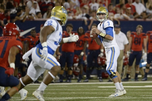 UCLA's Defense Dominated in the First Half-Bruins Head to the Half Down 30-14
