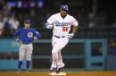 Yasiel Puig, Chris Taylor power Dodgers past Cubs in NLCS Game 1