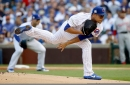 Cubs make one roster change, name Quintana to start NLCS opener