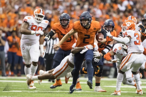 The 10 plays that sparked Syracuse's 27-24 upset of Clemson