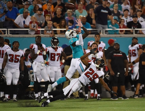 Falcons now favored by 13.5 points vs. Dolphins