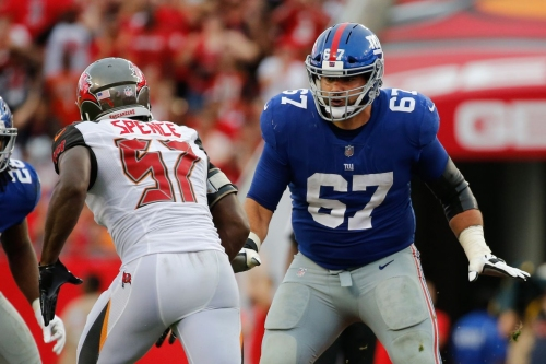 Giants at Broncos: Justin Pugh reportedly headed back to right tackle