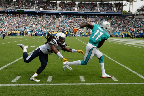 Dolphins at Falcons Week 6 inactive players announced: DeVante Parker to miss game
