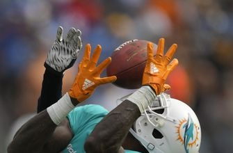 Dolphins' Parker, Falcons' Sanu inactive because of injuries